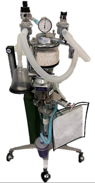 CVM USDA Anasthesia Machine